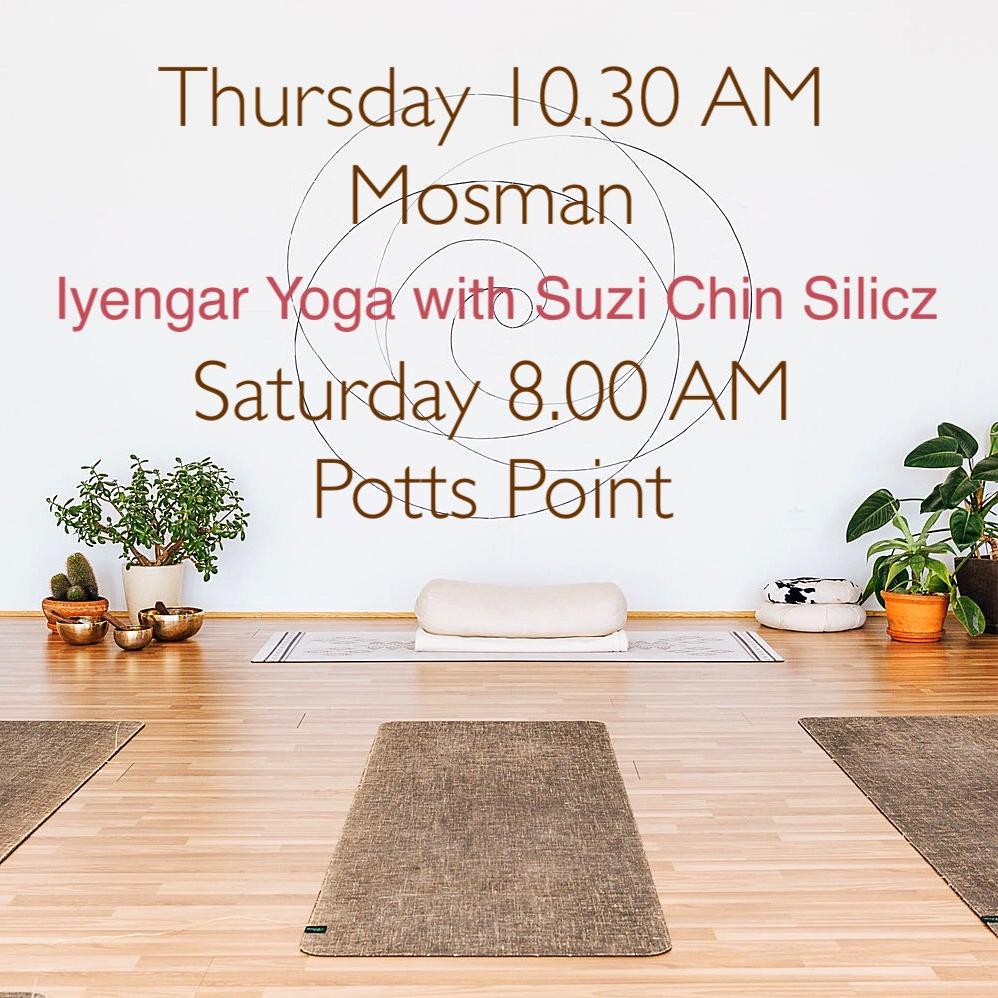Iyengar Yoga Potts Point Sydney