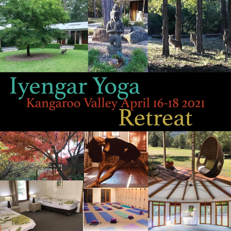Iyengar yoga retreat Kangaroo Valley